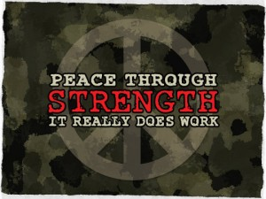 Peace Through Strenght Works