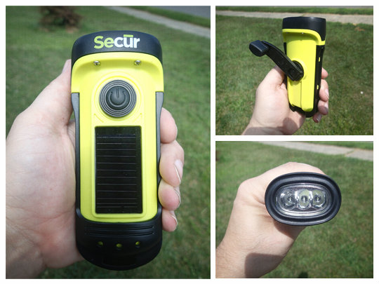 Secur Waterproof Solar/Dynamo Ed Flashlight Review ...