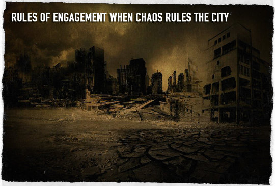 Chaos in the city