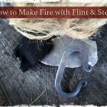How to Make Fire with Flint and Steel