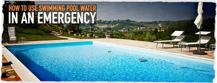Emergency Swimming Pool Water