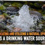Locating and Utilizing a Natural Spring as a Drinking Water Source