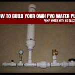 How To Build Your Own PVC Water Pump