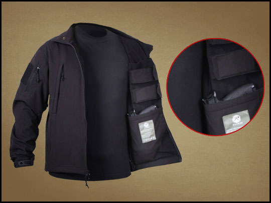 Rothco Concealed Carry Soft Shell Jacket