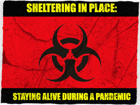 Sheltering in place during a pandemic