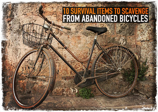 Survival Items Abandoned Bicycles