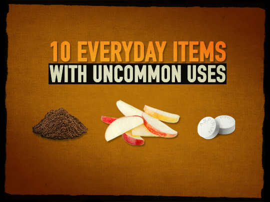 Emergency ideas 10 everyday items with uncommon uses - New uses common items ...