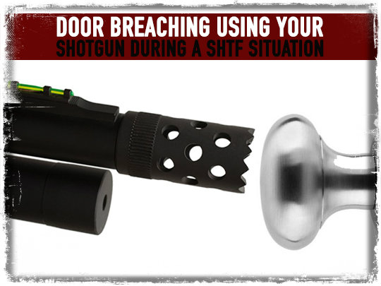Door Breaching Shotgun