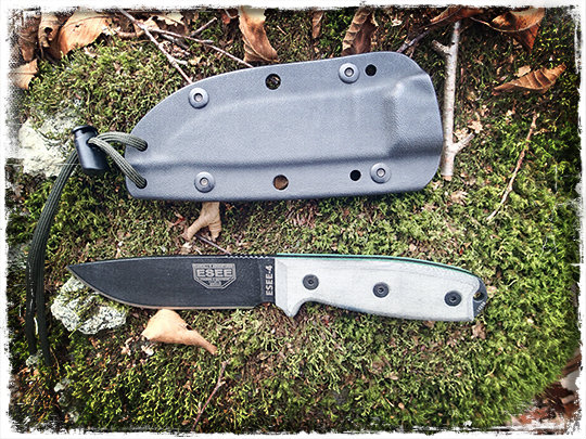 Esee 4 Survival Knive