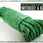 How to Cut Rope in an Emergency Without a Knife
