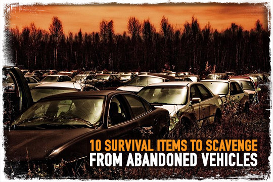 Scavenge Abandoned Vehicles