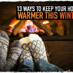 13 Ways to Keep Your House Warmer This Winter