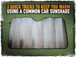 Car Sunshade Tricks