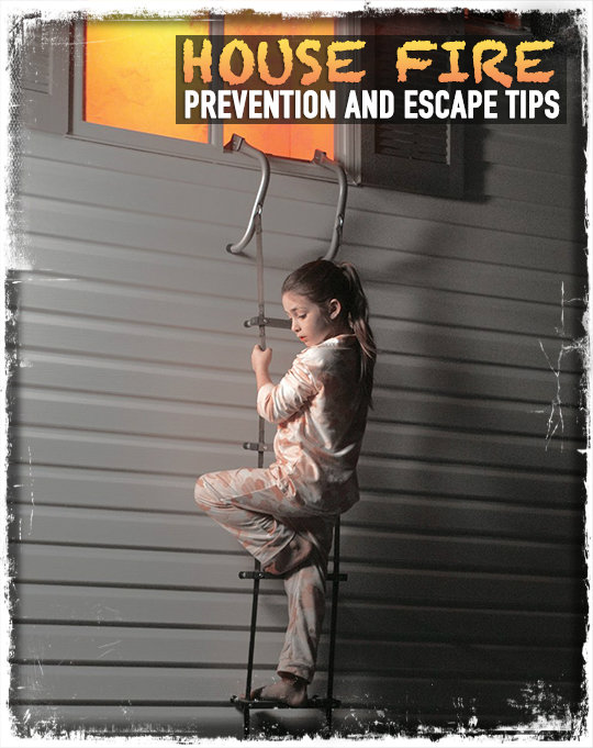 House fire prevention and escape tips preparing for shtf for Fire prevention tips for home