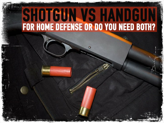 Shotgun vs Handgun Home Defense