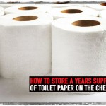 How to Store a Years Supply of Toilet Paper on The Cheap