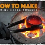 How to Make a Mini Metal Foundry