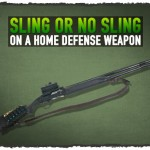 Sling or No Sling on a Home Defense Weapon