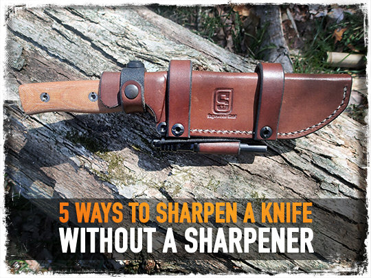 Ways To Sharpen Knife