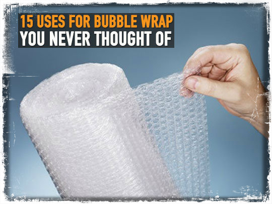 Bubble Wrap Uses