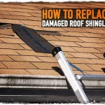How To Replace Damaged Roof Shingles
