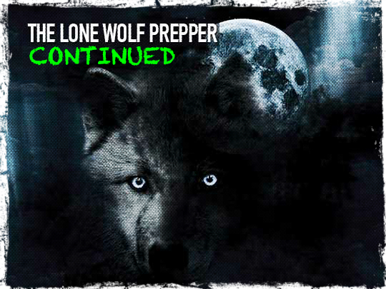Lone Wolf Prepper Continued