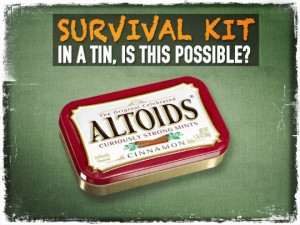 Altoids Survival Kits