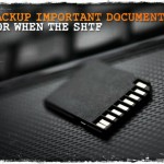 Backup Important Documents for When the SHTF
