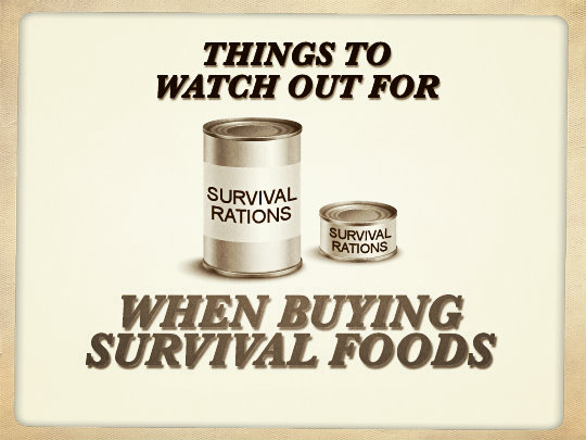 Survival Food