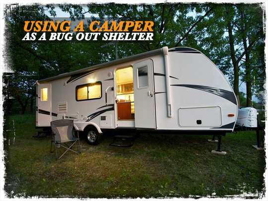 Camper Bug Out Shelter