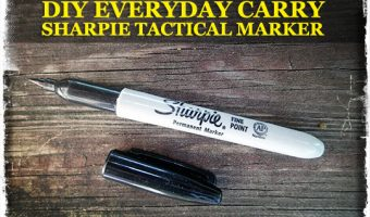DIY Everyday Carry Sharpie Tactical Marker