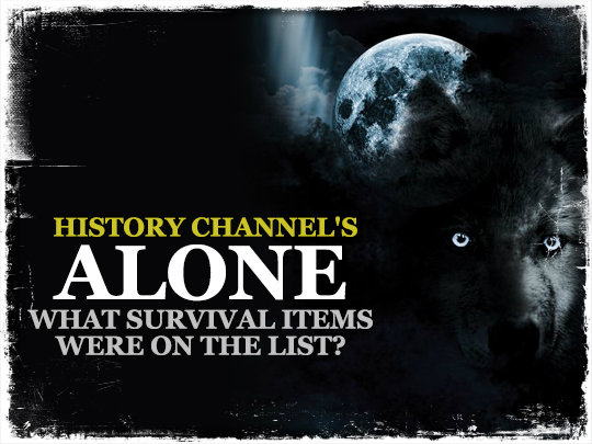 History Channel's Alone: What Survival Items Were On the List?