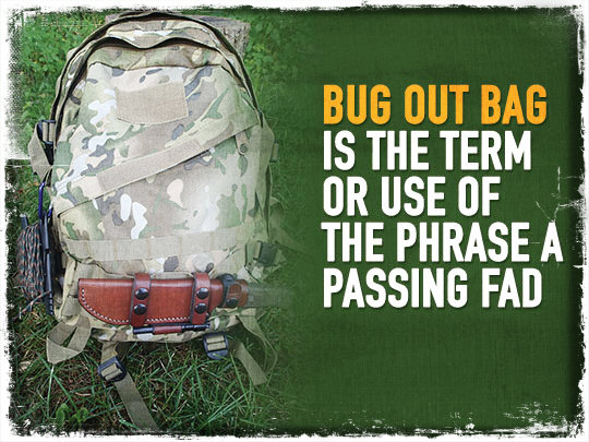 Big Out Bag Fad