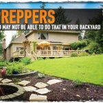 Preppers You May Not Be Able to Do That in Your Backyard