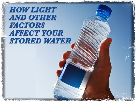 UV Light Stored Water