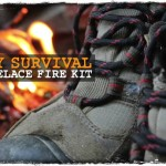 DIY Survival Shoelace Fire Kit