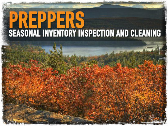 Preppers Seasonal Inspection
