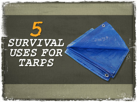 Survival Uses Tarps