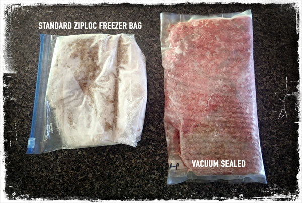 Vacuum Sealed Ground Beef