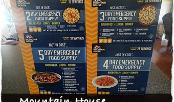 Mountain House 14 Day Emergency Food Supply Kit