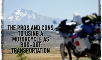 The Pros and Cons to Using a Motorcycle as Bug-Out Transportation