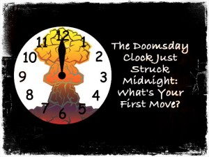 Doomsday Clock 12am