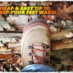 Cheap & Easy Tip to Keep Your Feet Warm
