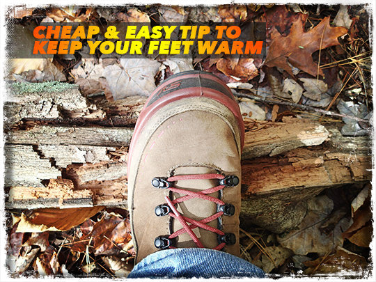 Warm Feet Boot Hack