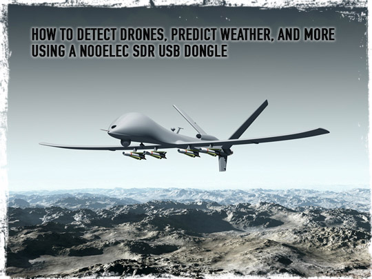 Detecting Drones and Weather Radar