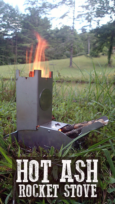 Hot Ash Rocket Stove