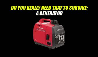 Do You Really Need That to Survive: A Generator