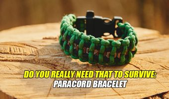 Do You Really Need That to Survive: Paracord Bracelet