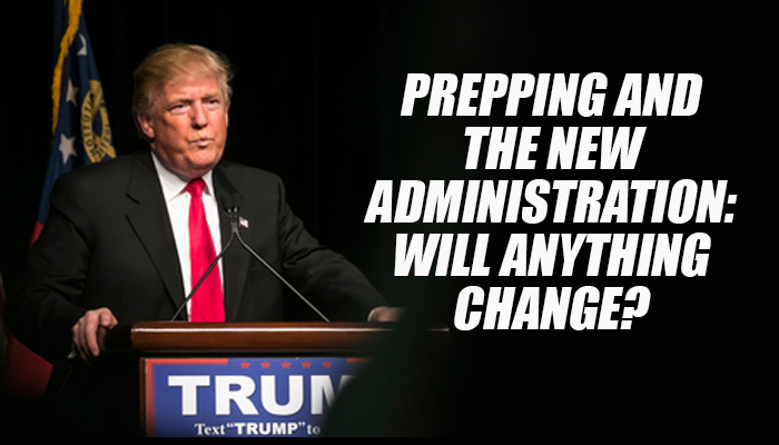 Prepping Trump Administration