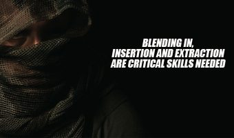 Blending In, Insertion and Extraction Are Critical Skills Needed